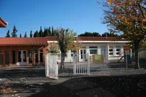 Scolarité - Entrée de l'école