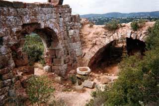 Histoire - photo de mur en ruines